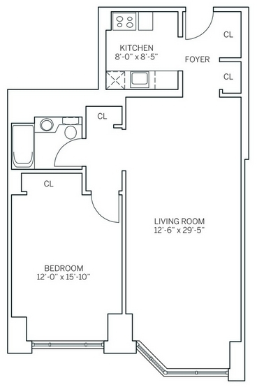 1 Bedroom, Newport Rental in NYC for $3,095 - Photo 2