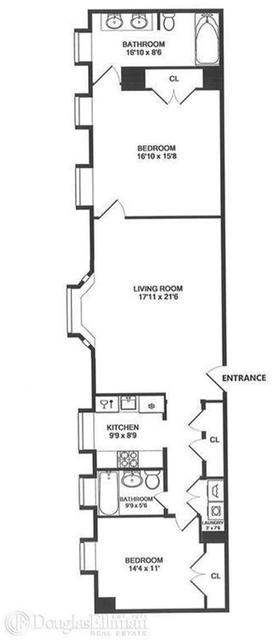 2 Bedrooms, Midtown East Rental in NYC for $12,995 - Photo 2