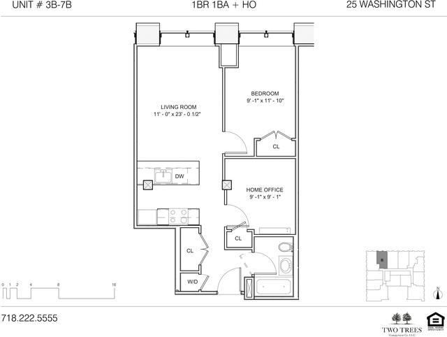 1 Bedroom, DUMBO Rental in NYC for $4,545 - Photo 1