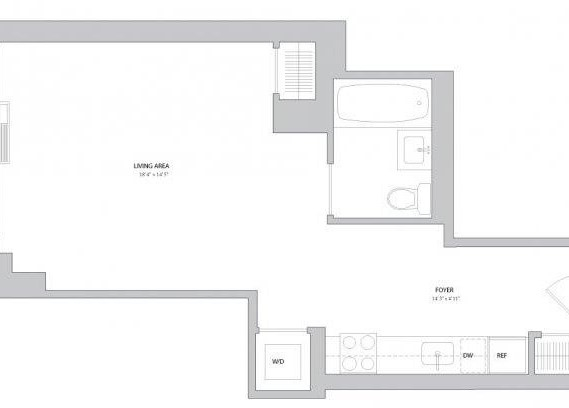Studio, Lincoln Square Rental in NYC for $3,455 - Photo 2