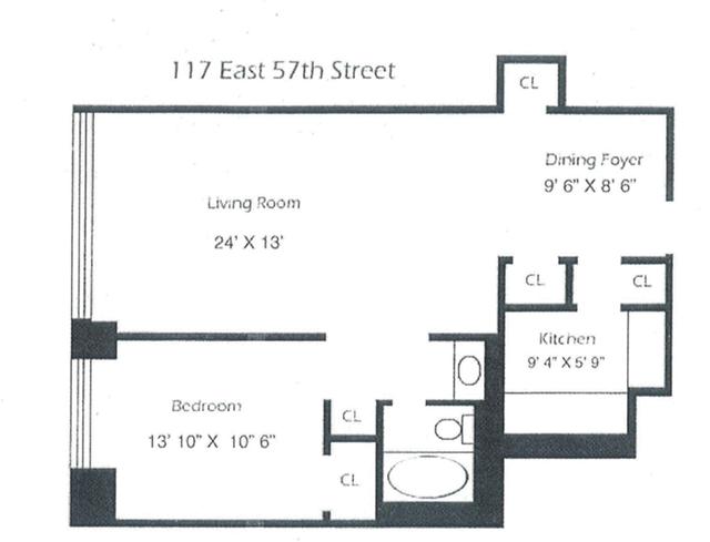 1 Bedroom, Midtown East Rental in NYC for $3,900 - Photo 2