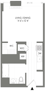 Studio, Long Island City Rental in NYC for $2,434 - Photo 2