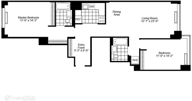 2 Bedrooms, Chelsea Rental in NYC for $8,215 - Photo 2