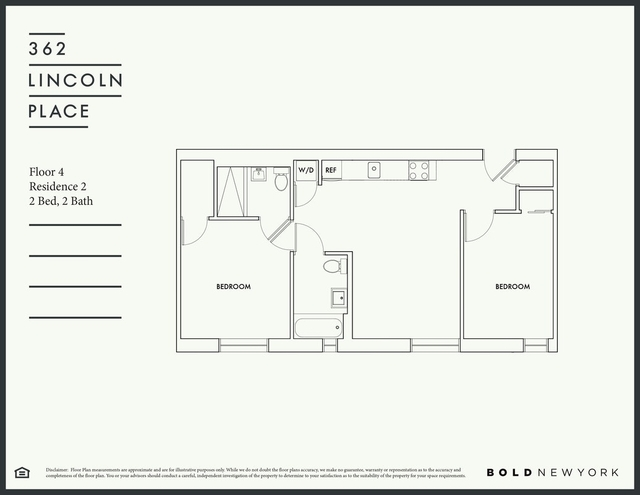 2 Bedrooms, Prospect Heights Rental in NYC for $3,460 - Photo 2
