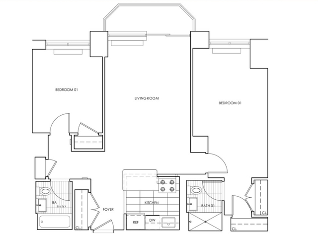 3 Bedrooms, Theater District Rental in NYC for $5,999 - Photo 2