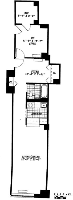 Studio, Financial District Rental in NYC for $4,670 - Photo 2