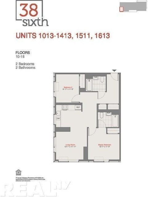 2 Bedrooms, Prospect Heights Rental in NYC for $3,206 - Photo 2