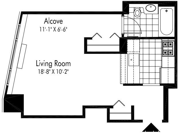 1 Bedroom, Hell's Kitchen Rental in NYC for $2,670 - Photo 2