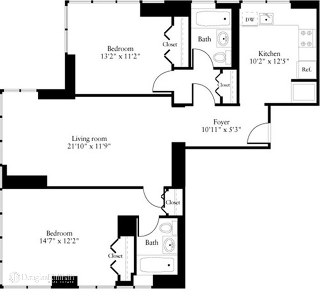 2 Bedrooms, Chelsea Rental in NYC for $7,480 - Photo 1