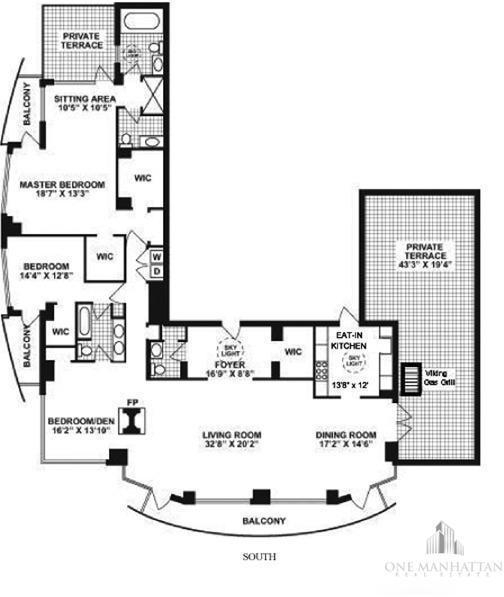 3 Bedrooms, Midtown East Rental in NYC for $22,000 - Photo 2