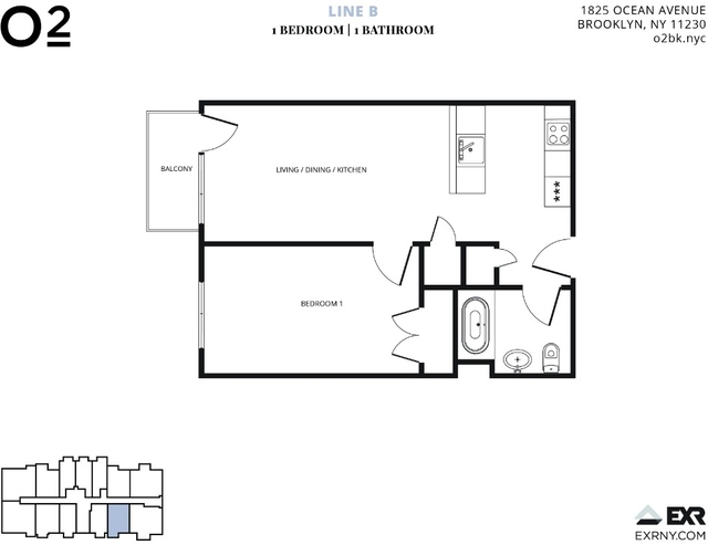 1 Bedroom, Midwood Rental in NYC for $2,275 - Photo 2