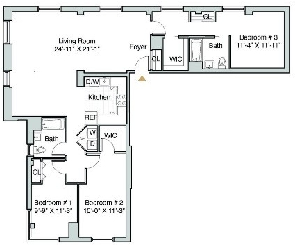 2 Bedrooms, Long Island City Rental in NYC for $6,035 - Photo 2