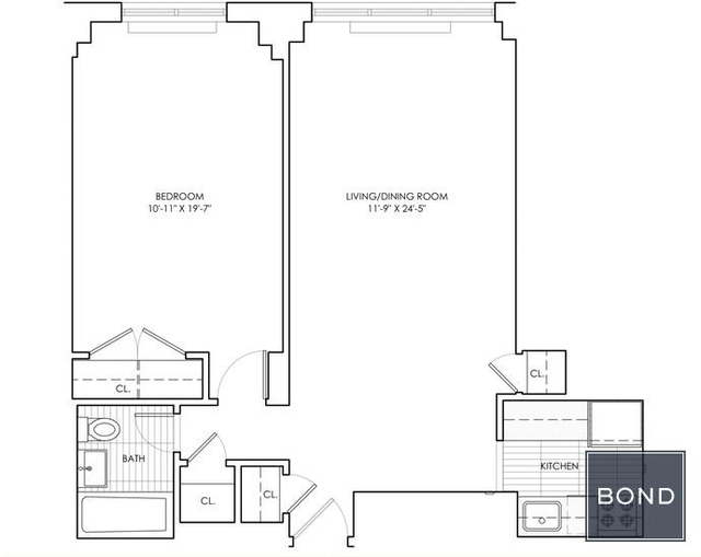 1 Bedroom, Rose Hill Rental in NYC for $3,758 - Photo 2