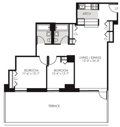 2 Bedrooms, Financial District Rental in NYC for $5,399 - Photo 2