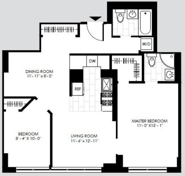 2 Bedrooms, Yorkville Rental in NYC for $4,217 - Photo 2