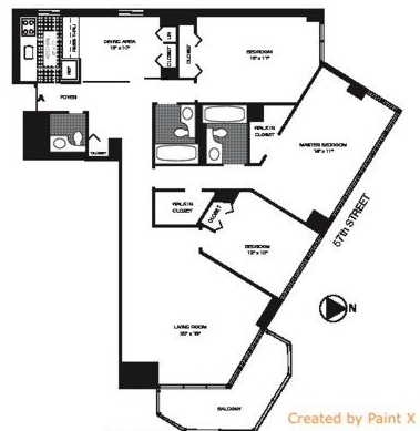 4 Bedrooms, Roosevelt Island Rental in NYC for $6,798 - Photo 2