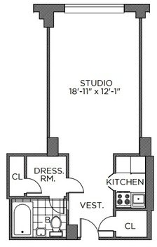 Studio, Murray Hill Rental in NYC for $3,337 - Photo 2
