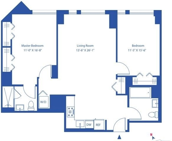 2 Bedrooms, Astoria Rental in NYC for $3,739 - Photo 2