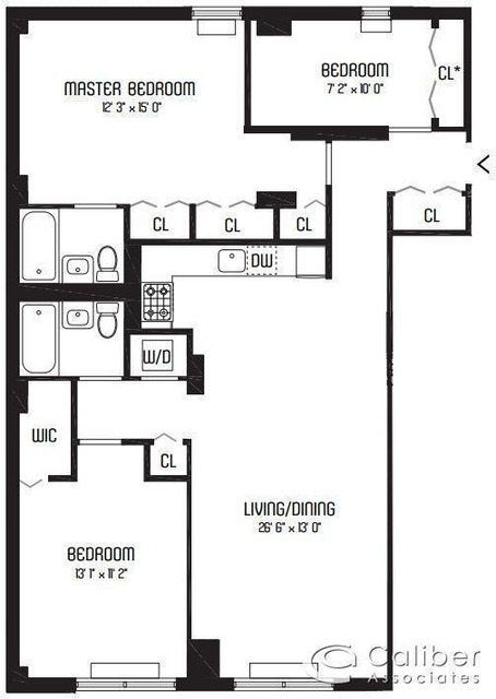 3 Bedrooms, Murray Hill Rental in NYC for $6,876 - Photo 2