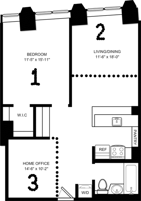 Room, Financial District Rental in NYC for $1,741 - Photo 2