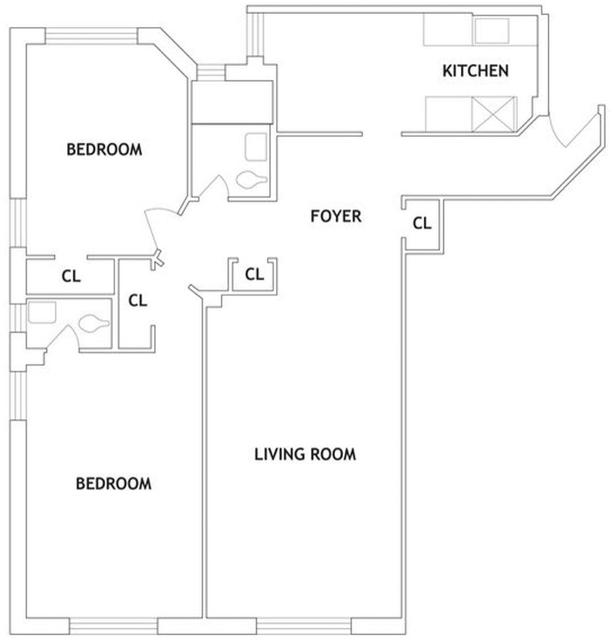 2 Bedrooms, Ocean Parkway Rental in NYC for $2,425 - Photo 2
