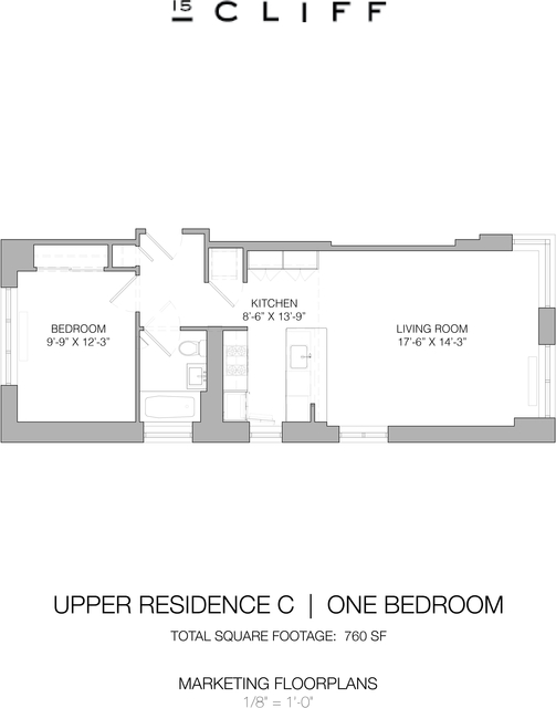 1 Bedroom, Financial District Rental in NYC for $4,460 - Photo 2