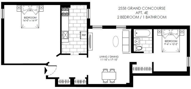 2 Bedrooms, Fordham Manor Rental in NYC for $2,050 - Photo 2