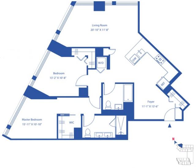 2 Bedrooms, Astoria Rental in NYC for $4,195 - Photo 2