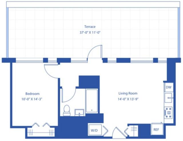 1 Bedroom, Astoria Rental in NYC for $2,995 - Photo 2