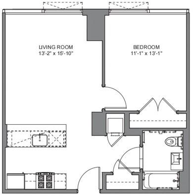 1 Bedroom, DUMBO Rental in NYC for $3,688 - Photo 2