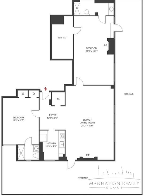 2 Bedrooms, Sutton Place Rental in NYC for $9,100 - Photo 2