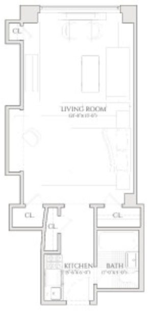 Studio, Turtle Bay Rental in NYC for $2,480 - Photo 2