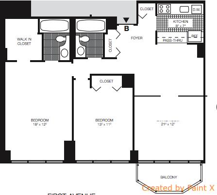 3 Bedrooms, Midtown East Rental in NYC for $5,150 - Photo 2