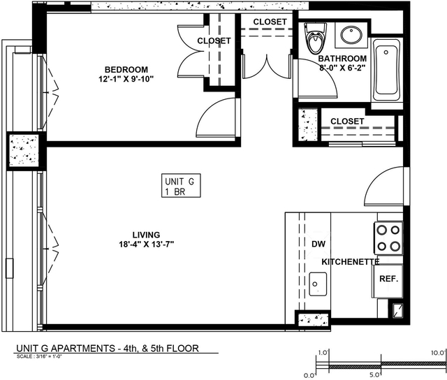1 Bedroom, Astoria Rental in NYC for $2,862 - Photo 2