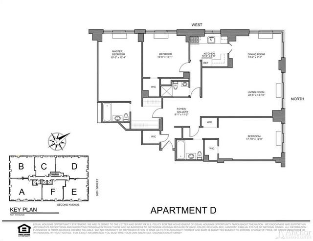 3 Bedrooms, Upper East Side Rental in NYC for $11,200 - Photo 2