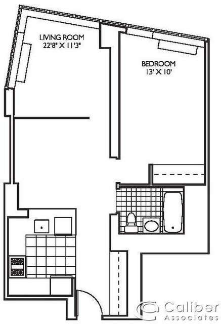 2 Bedrooms, Theater District Rental in NYC for $3,250 - Photo 2