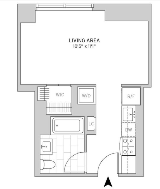 Studio, Murray Hill Rental in NYC for $3,669 - Photo 2