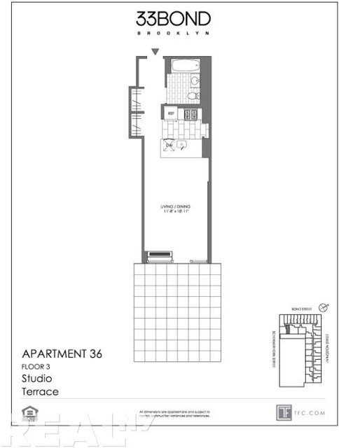 Studio, Downtown Brooklyn Rental in NYC for $2,561 - Photo 2