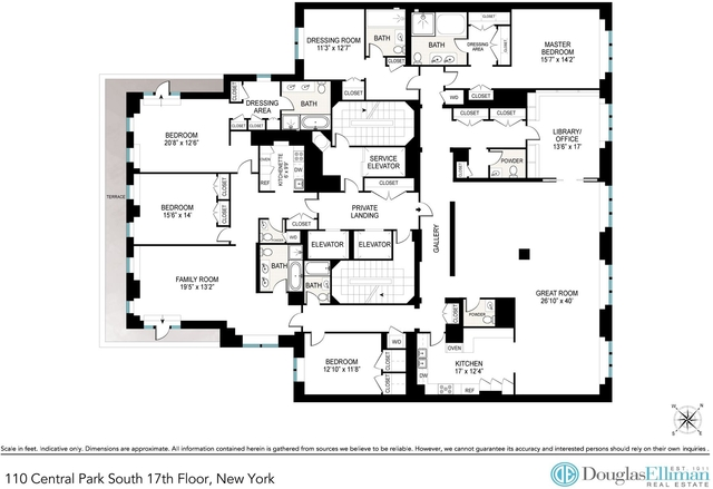 4 Bedrooms, Theater District Rental in NYC for $35,000 - Photo 2