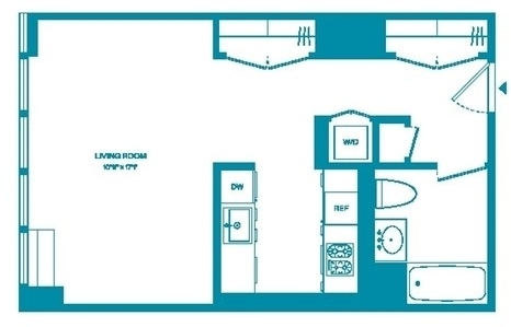 Studio, Chelsea Rental in NYC for $3,688 - Photo 2