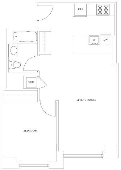 1 Bedroom, Hell's Kitchen Rental in NYC for $3,321 - Photo 2