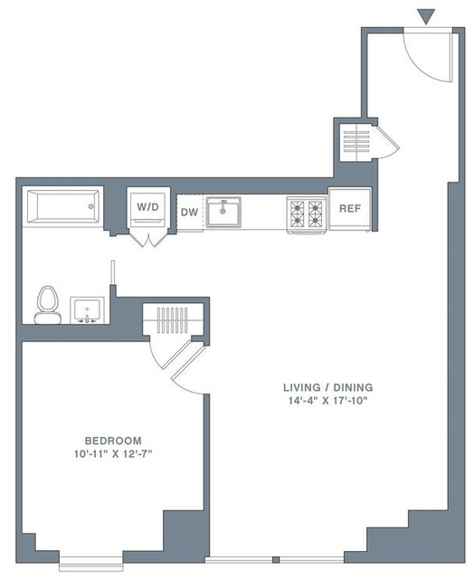 1 Bedroom, Financial District Rental in NYC for $4,880 - Photo 2