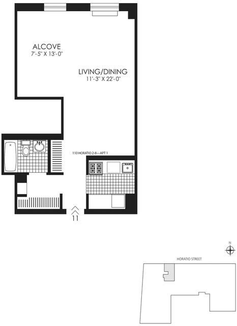 Studio, West Village Rental in NYC for $3,965 - Photo 2