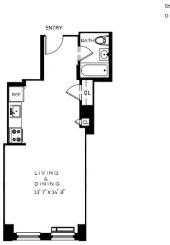 Studio, Financial District Rental in NYC for $2,727 - Photo 2