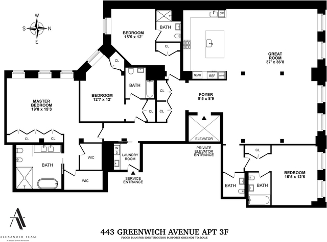 4 Bedrooms, Tribeca Rental in NYC for $45,000 - Photo 2