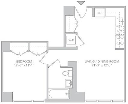 1 Bedroom, Koreatown Rental in NYC for $3,795 - Photo 2