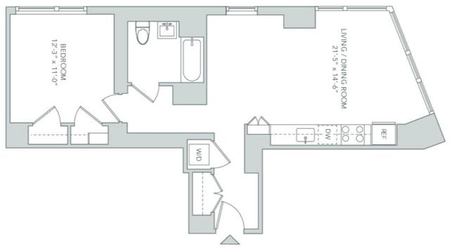 1 Bedroom, Koreatown Rental in NYC for $3,995 - Photo 2
