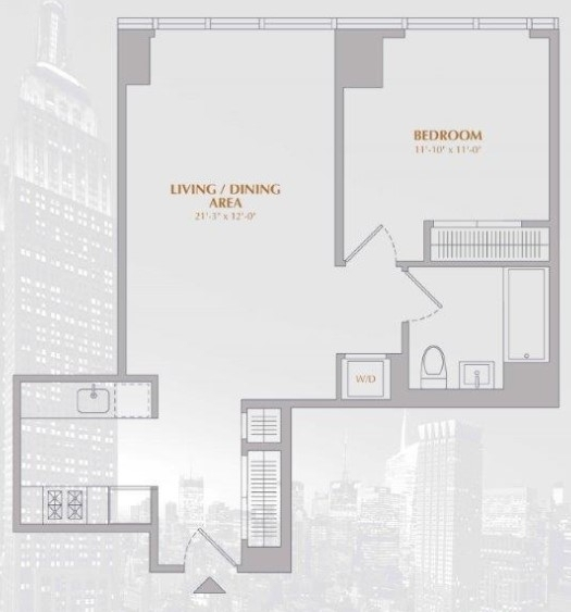 1 Bedroom, Murray Hill Rental in NYC for $4,827 - Photo 2