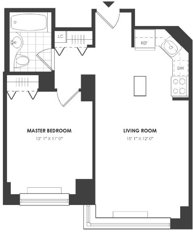 1 Bedroom, NoMad Rental in NYC for $4,449 - Photo 2