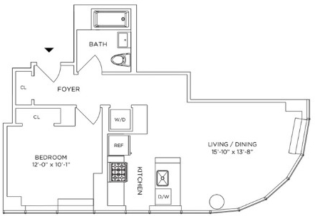 1 Bedroom, Downtown Brooklyn Rental in NYC for $3,740 - Photo 2